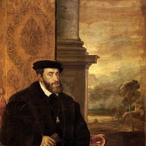 Портрет Императора Карла V.1548