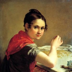 Золотошвейка. 1826