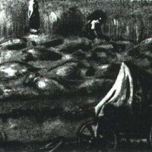 Жатва. Этюд. Около 1820