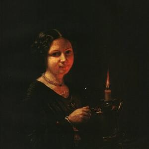 Девушка со свечой. 1830-е