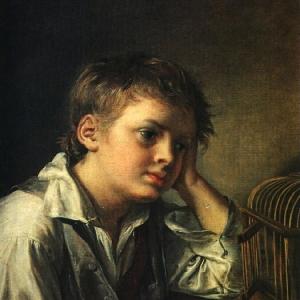 Мальчик с мертвым щегленком. 1829