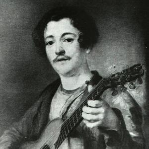 Гитарист В. И. Морков. Начало 1820-х