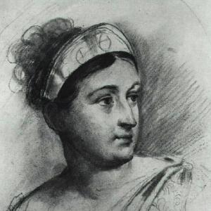 Е.С.Семенова. По гравюре П.И.Уткина с оригинала О.А.Кипренского. 1815