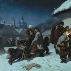 Колядки в Малороссии
