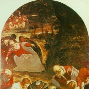 Якопо Тинторетто - Погребения христа