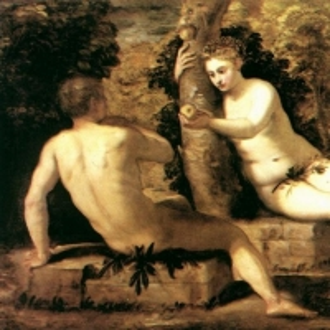 Якопо Тинторетто - Адам и Ева