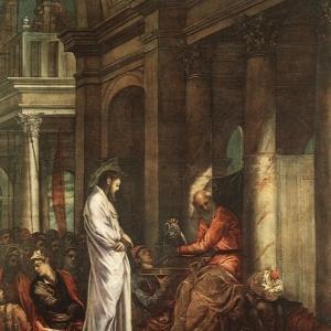 Якопо Тинторетто - Христос перед Пилатом