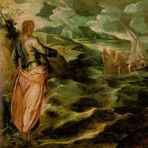 Якопо Тинторетто - Христос в галилейском море
