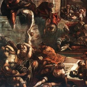 Якопо Тинторетто - Избиение младенце в вифлиеме