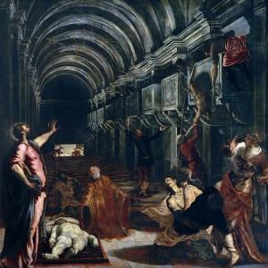 Якопо Тинторетто - Нахождение тела святого Марка