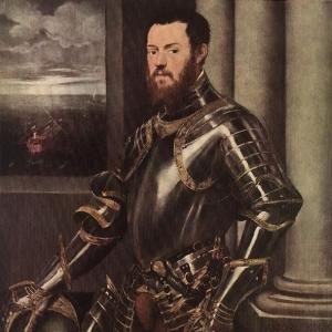 Якопо Тинторетто - Портрет неизвестного мужчины в доспехах