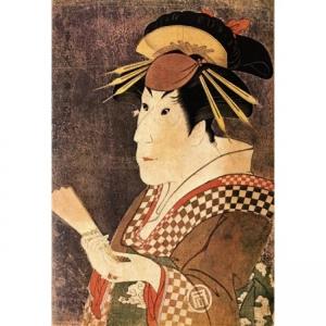 Тосюсай Сяраку - Актер Санагава Итимацу третий в роли Онаэ, жрицы любви квартала Гион-мати
