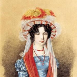 Женский портрет. 1825