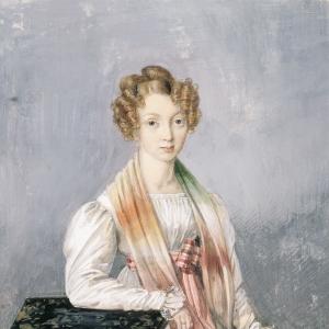 Портрет А.А. Бирюковой. 1820-е