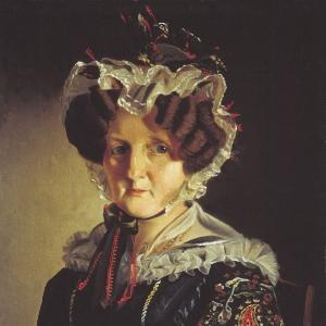 Портрет неизвестной в чепце. 1831