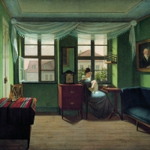 Толстой Федор Петрович - В комнате за шитьем