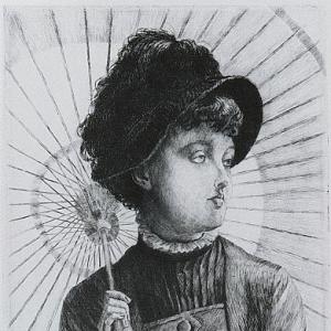 Жак Жозеф Тиссо - Женский портрет