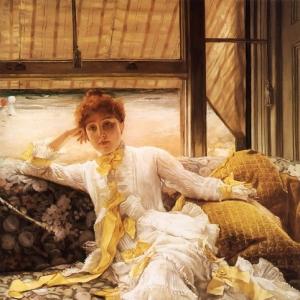 Жак Жозеф Тиссо - Весенний образец портрета