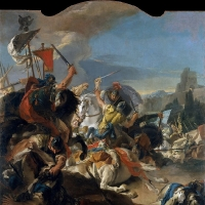 Джованни Баттиста Тьеполо - Битва у Верцеллы