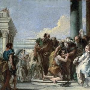 Джованни Баттиста Тьеполо - Возвращение блудного сына