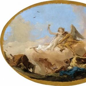Джованни Баттиста Тьеполо - Время, открывающее Истину