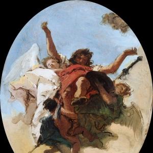 Джованни Баттиста Тьеполо - Апофеоз святого Роха