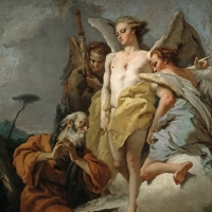 Джованни Баттиста Тьеполо - Авраам и три ангела