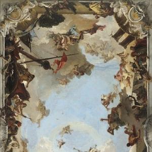 Джованни Баттиста Тьеполо - Богатство и величие испанской монархии Карла III