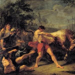 Испытание силы Яна Усмаря. 1796 (1797)