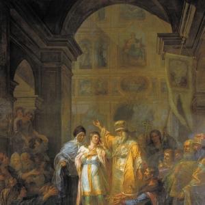 Призвание Михаила Федоровича Романова на царство 14 марта 1613 года. Не позднее 1800