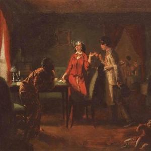 Жена-модница (Львица. Эскиз). 1849