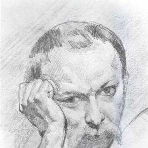 Автопортрет. Конец 1840-х