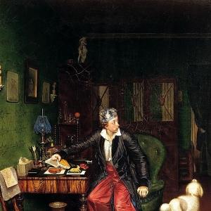 Завтрак аристократа. 1849-1850