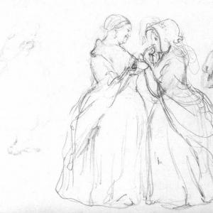 Визит новобрачных. 1849