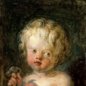 Дитя с цветами