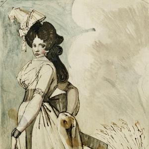 Иоганн Генрих Фюсли - Дама на прогулке