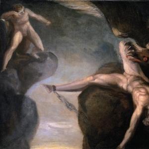 Иоганн Генрих Фюсли - Прометей освобождённый Геркулесом