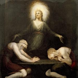 Иоганн Генрих Фюсли - Явление Христа в Эммаусе