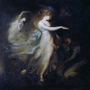 Иоганн Генрих Фюсли - Принц Артур и Королева фей