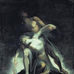 Иоганн Генрих Фюсли - Видение потопа, из «Потерянного рая» Джона Мильтона