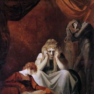 Иоганн Генрих Фюсли - Здесь я и скорбь сидят, Акт II Сцена I, Король Иоанн Уильяма Шекспира