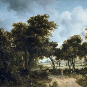 Хоббема Мейндерт - Хижины на опушке леса