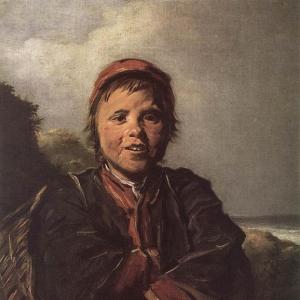 Франс Хальс - Мальчик-рыбак