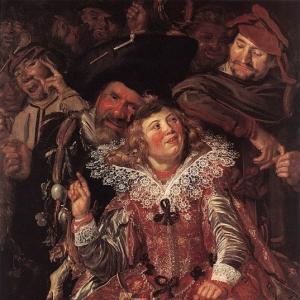 Франс Хальс - Масленичное гулянье, ок.1615