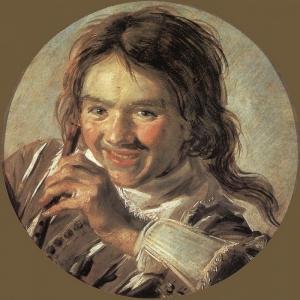 Франс Хальс - Мальчик, играющий на флейте