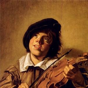Франс Хальс - Мальчик, играющий на скрипке