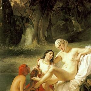 Франческо Хайес - Романтика Италии, 1834