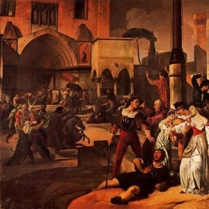 Франческо Хайес - Сицилийская вечерня.Сцена 1
