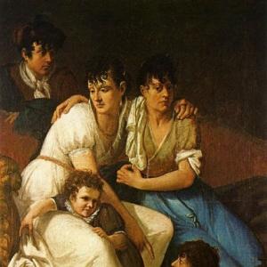 Франческо Хайес - Семейны портрет