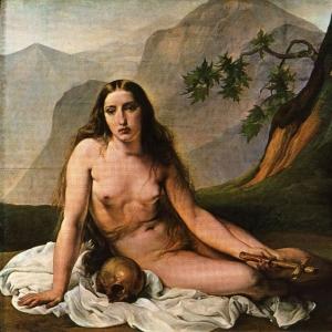 Франческо Хайес - Кающаяся Мария Магдалина